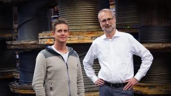 Magnus Nordström och Håkan Donnerlid