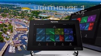 The coastal city of Annapolis is the inspiration behind the name of Raymarine's latest LightHouse operating system update.