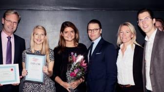 Yollibox kammade hem titeln Sveriges Ungdomsentreprenör 2013