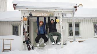 Arne Max Olaf Barwinski og Guri Hundvebakke, innehaverne av FURU Hostel & Café.
