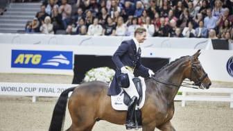 GHS-ambassadören Patrik Kittel är glad över tävlingens utmärkelse. Foto: Anna-Lena Lundqvist