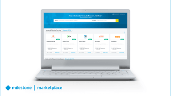 Milestone Marketplace helps customers explore unmatched possibilities to extend their video solutions