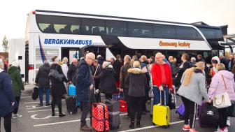 Reserekord! 800 bussresenärer till Prag under en och samma helg med Ölvemarks Holiday