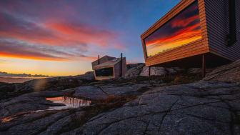 Flokehyttene cabins. Photo: Holon Arkitektur