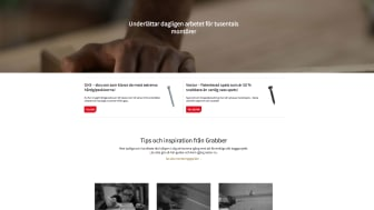 Launch of new grabber.se - built in Umbraco with focus on product search