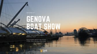 OXE Diesel displayed at the GENOVA BOAT SHOW by Rama Marine