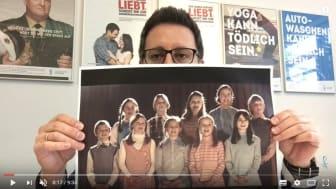 """Beginnt zuckersüß, endet aber dramatisch: """"Der Kinderchor"""" - ein Fernsehspot der Felix Burda Stiftung"""