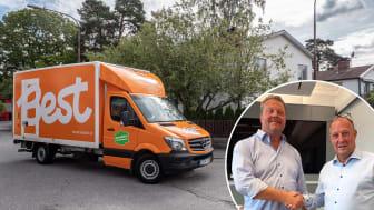 Best Transport förvärvar nu Budcompaniett och förstärker därmed sin roll som ledande aktör inom Last Mile i Stockholmsregionen