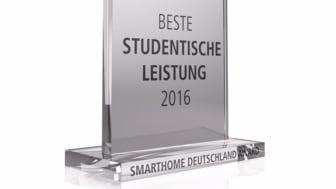 """1. Platz beim """"SmartHome Award Deutschland 2016"""" an Studierenden des Masterstudiengangs Telematik der TH Wildau"""