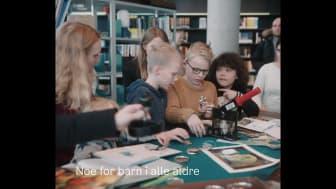 Video from Deichman Bjørvika