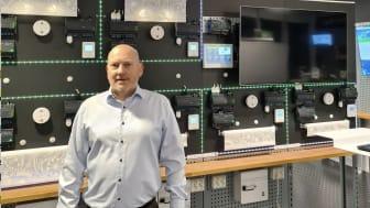Henrik Nilsson, global VP för R&D på Schneider Electric