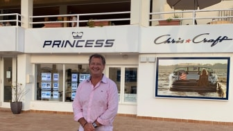 Robbie Head is to become Ibiza sub-dealer for Princess Motor Yacht Sales in April 2020