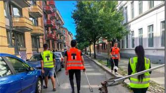 Bilder fra Tøyen Frivilligsentral sitt innlegg i Strandryddedagen – Vi rydder fra Tøyen til Akerselva
