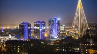 Lisebergs julgran är en viktig symbol för göteborgarna