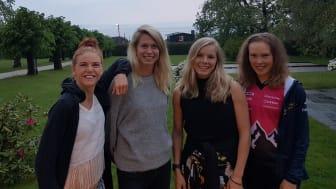 Karolin Ohlsson, Lina Strand, Sara Hagström och Tove Alexandersson