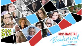 Årets program Kristianstad Bokfestival 2016