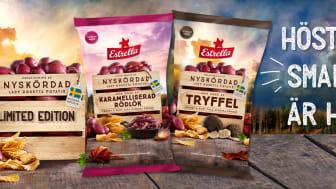Estrella Nyskördad 2018 Limited Edition på helt nyskördad svensk potatis.