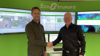 Magnus Hornef, Metry och Tomas Bäckstadi, Schneider Electric