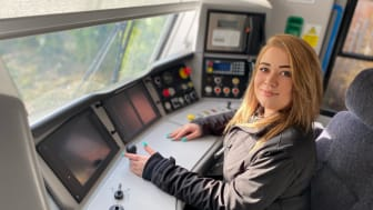 The UK's largest train company is calling upon people of all ages and backgrounds to apply to be a trainee driver. More images below