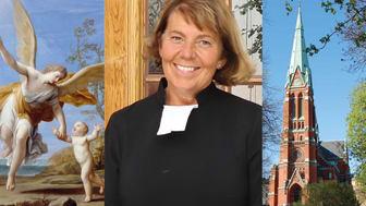 Kyrkoherde Catharina Segerbank som även arbetat som kyrkoherde i Södra Tysklands pastorat.