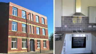 Derelict Radcliffe centre building now providing affordable homes