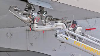 Cavotec fuel supply system at Frankfurt Airport