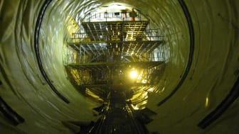 Sika tätar Hallandsåsens tunnlar