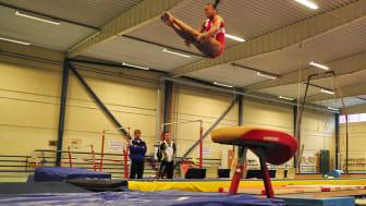 Två svenska gymnaster tävlar i Världscupen i Quatar