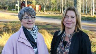 Fr v. Barbro Renkel och Marlene Johansson. Fotograf: Maria Persson