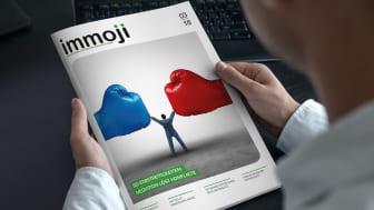 Das Bestellerprinzip für Immobilienverkäufe kommt. Jetzt ist der richtige Moment, um mit dem Immoji©-Journal mit potenziellen Verkäufern in einen Dialog zu treten.