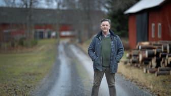 """Per Hultengård hoppas tillföra nya perspektiv på skogsägande i sin nystartade blogg """"Utbo-bloggen"""" på ATL.nu. Foto: Lasse Hejdenberg"""