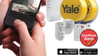 2013 Award Winning Yale Smartphone Alarm - Alerts you with Picture or Video Feed!