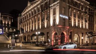 The Vault Hotel är beläget mitt i centrala Helsingborg, och den anrika byggnaden är ursprungligen ett av landets första bankverksamheter.