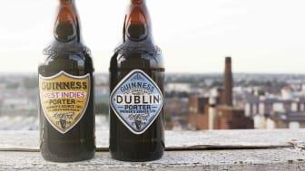 Guinness presenterar två nya öl baserade på recept från 1796 och 1801