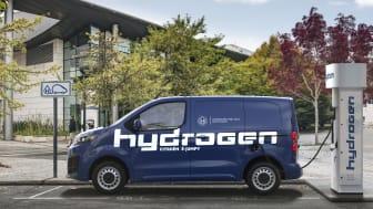 Nya Citroën ë-Jumpy Hydrogen – 400 km eldrift som tankas på tre minuter