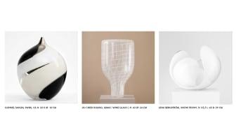 20/2020 — en samlingsutställning med unik ny samtida glaskonst kurerad av Tom Hedqvist