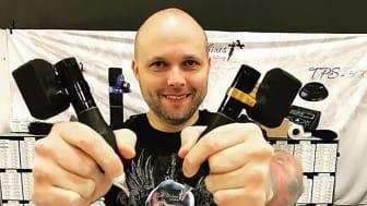 Christian utvecklar vibrationsfritt och trådlöst!