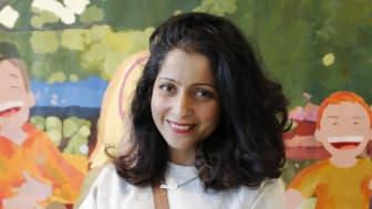 Saadia Hussain, konstnärlig ledare för projektet Seniorernas konst