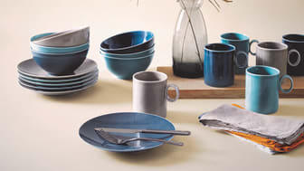 Loft Colour has a fresh and natural look in the new glaze décors