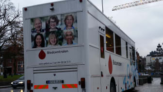 Blodcentralen i Södertälje ersätts med blodbuss