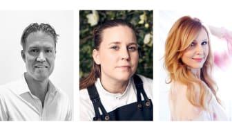 Kenny Jönsson, Frida Nilsson och Jenny Silver är Ängelholms nya ambassadörer.