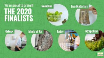 The Finalists Postcode Lotteries Green Challenge 2020