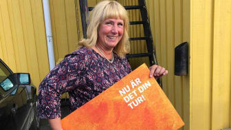 Åsa-Britta Juhlin valde att skänka sin del av Kundmiljonen till föreningen EdekUng