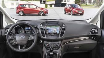 Nye Ford C-MAX, interiørbilde