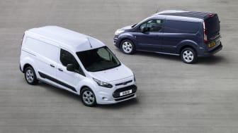 Nye Ford Connect med lang og kort akselavstand