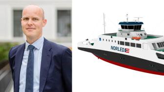 Morten Solberg Watle, daglig leder i hydrogesensleskapet GreenH, jobber blant annet med løsninger for bruk av hydrogen som drivstoff innen fergesektoren.