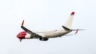 Norwegians allersidste fly af typen Boeing 737-800 er landet