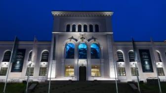 Instalcobolaget Frøland och Noss har varit med i totalrenoveringen av Norges äldsta museum från 1865.