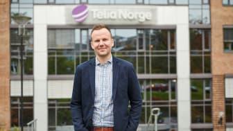 Håkon Lofthus, leder for Telia Privat