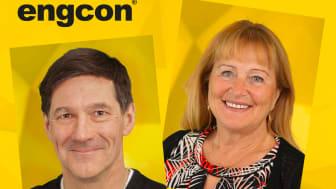 Engcons ägare, Stig och Monica Engström, vann priset Årets Innovation Champion vid årets Guldgalan